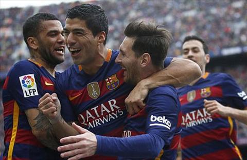 Suarez va Messi deu choi tot trong chien thang derby. Anh: Reuters