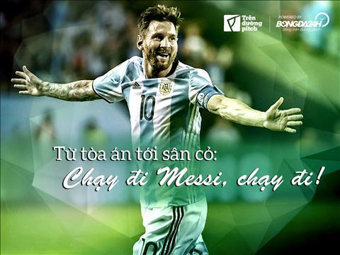 Từ tòa án tới sân cỏ: Chạy đi Messi, chạy đi!