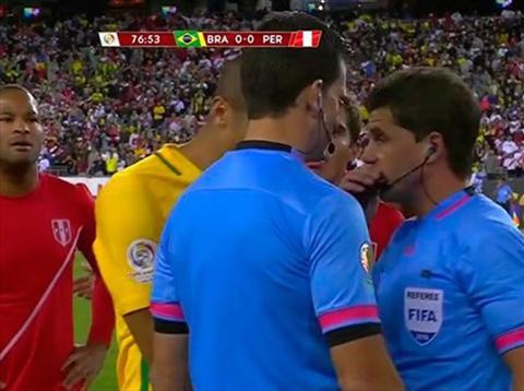 Video clip bàn thắng: Brazil 0-1 Peru (Bảng B Copa America 2016)