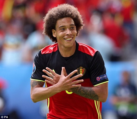 Chelsea mua Witsel hinh anh