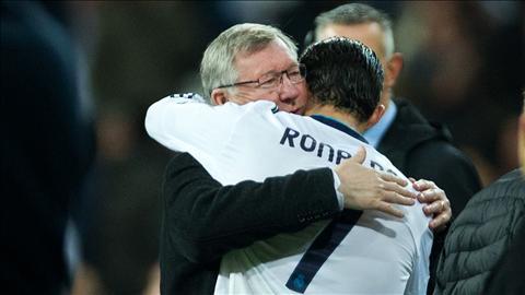 Ronaldo luon là học trò giỏi của Sir