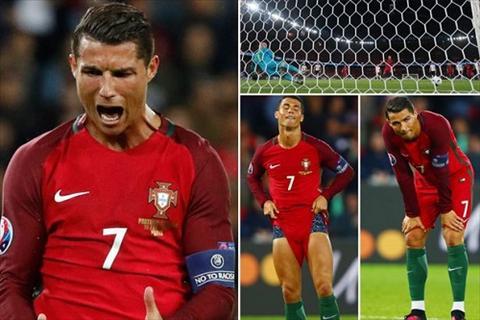 Sieu sao Ronaldo mat an mat ngu vi sut hong penalty hinh anh