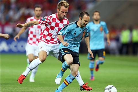 Rakitic Iniesta TBN vs Croatia