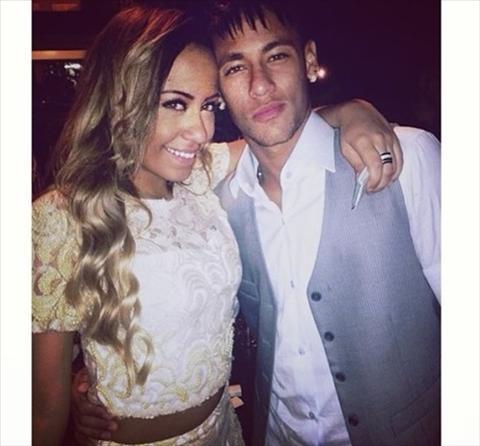 Em gai Neymar up mo ve tuong lai cua anh trai hinh anh