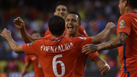 Jose Fuenzalida an mung ban thang cung Alexis Sanchez