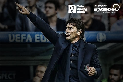 Azzurri thăng hoa: Trong cơn điên của Antonio Conte