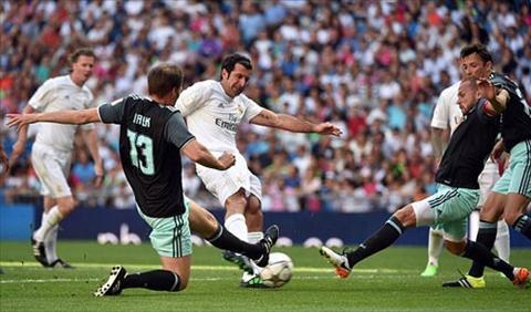 Tổng hợp: Huyền thoại Real Madrid 3-1 Huyền thoại Ajax