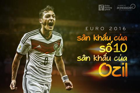Euro 2016: Sân khấu của số 10, sân khấu của Ozil