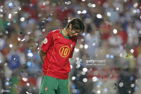 Rui Costa voi that bai tai EURO 2004