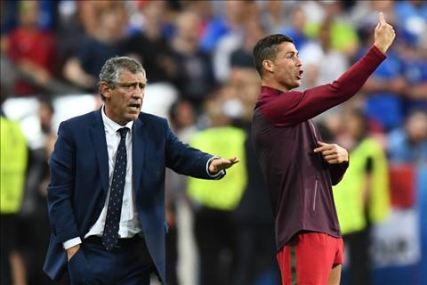 HLV Santos Ronaldo