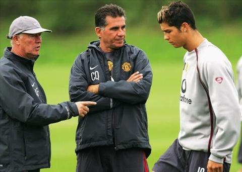 Cristiano Ronaldo San pham de doi cua Sir Alex hinh anh