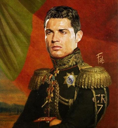 Ngoi sao Ronaldo moi duoc phong chuc tuong quan hinh anh