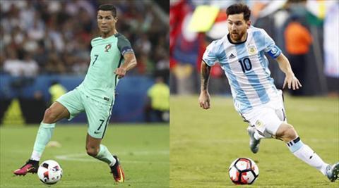Quan diem Ronaldo gio da vi dai hon Messi hinh anh