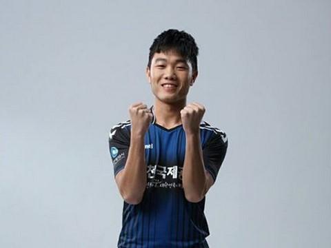 Tien ve Xuan Truong lap cu dup cho Incheon o giai du bi hinh anh