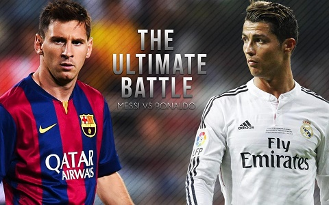 Dung nhu Messi, hay nhu Ronaldo! hinh anh