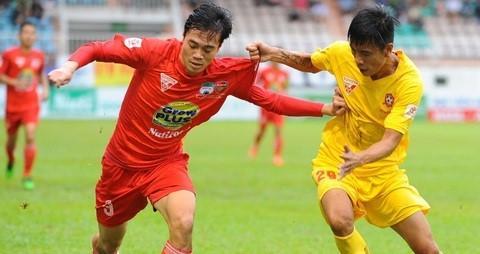 BTC V-League 2016 khang dinh trong tai khong thien vi HAGL hinh anh