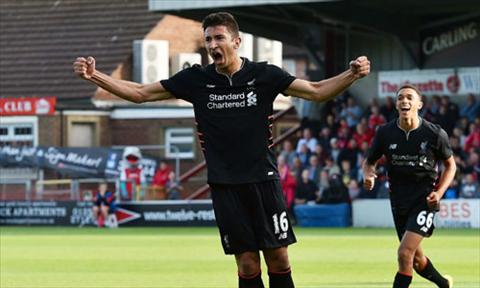Video clip ban thang Fleetwood 0-5 Liverpool (Giao huu he 2016) hinh anh