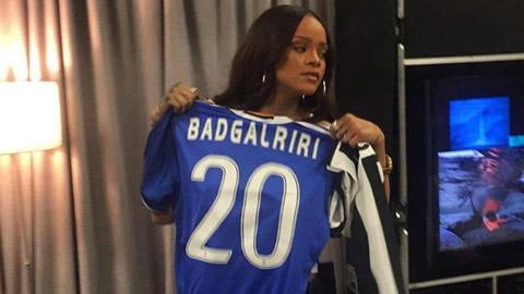 Ca sy Rihanna tan tinh sao Juventus hinh anh