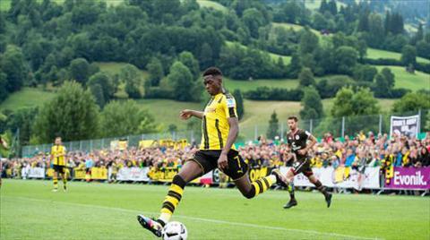 Tong hop Dortmund 3-2 StPauli (Giao huu he 2016) hinh anh