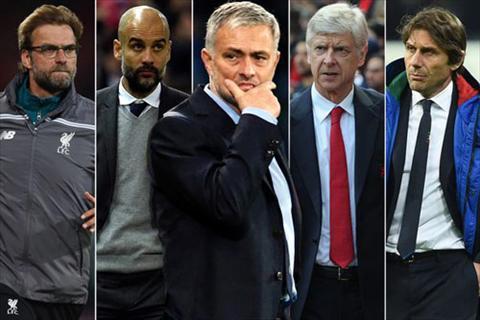 Dan HLV toan sao cua Premier League mua 2016/17
