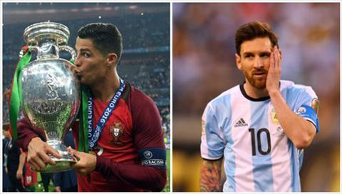 2016 Nam duy nhat Ronaldo thuc su an dut dai kinh dich Lionel Messi hinh anh 2