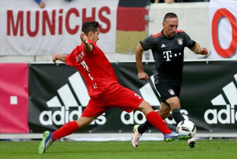 Video clip ban thang Lippstadt 3-4 Bayern Munich (Giao huu he 2016) hinh anh