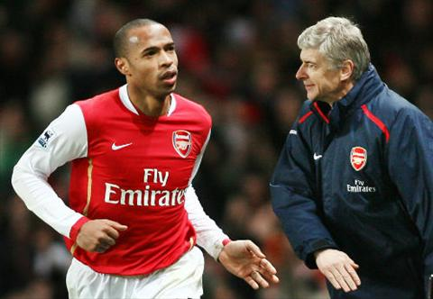Mau thuan voi ong thay cu Wenger dao gan day da khien Henry quyet dinh khong lam HLV doi U18 cua Arsenal