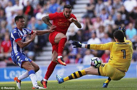Video clip ban thang Wigan 0-2 Liverpool (Giao huu he 2016) hinh anh