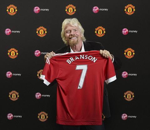 Ty phu Richard Branson hop tac voi Man Utd hinh anh