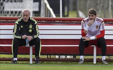 Bao ve dong doi Casillas, Xavi mang te tat HLV Del Bosque hinh anh