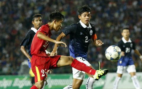 Tong hop U16 Viet Nam 1-0 U16 Campuchia (Ban ket giai U16 Dong Nam A) hinh anh