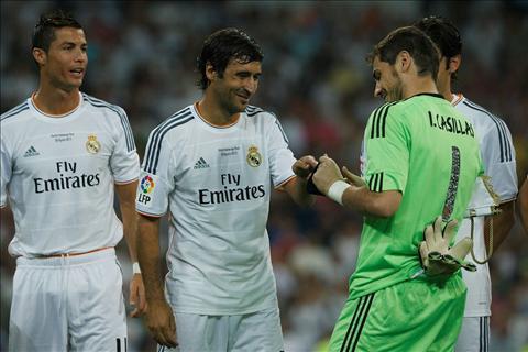 Cuu sao Real to Raul va Casillas thao tung phong thay do hinh anh