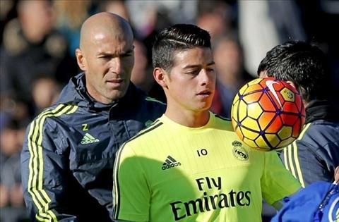 Zidane ra dieu kien de o lai Real cho James Rodriguez hinh anh 2