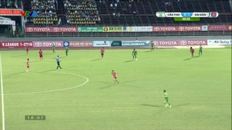 Tong hop Can Tho 0-1 Sai Gon (Vong 17 V-League 2016) hinh anh