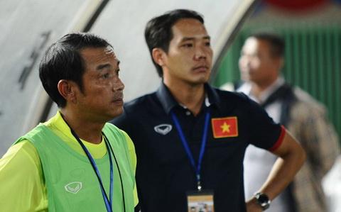 HLV Dinh The Nam tram ngam sau that bai cua doi nha. Anh: Zing