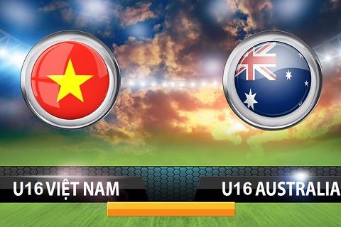 U16 Viet Nam vs U16 Australia (18h30 237) Tien ve ngoi vuong hinh anh