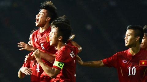 Video clip ban thang: U16 Viet Nam 3-3 (pen: 3-5) U16 Australia (CK giai U16 DNA)
