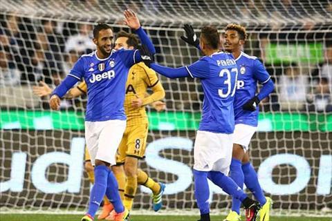 Video clip ban thang Juventus 2-1 Tottenham (ICC 2016) hinh anh