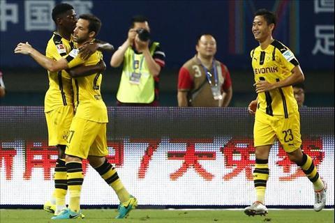 Dortmund dang co luc luong kha dong deu