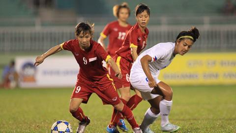 DT Nu Viet Nam ra san tai AFF Cup nu vao chieu nay hinh anh