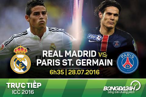 TRUC TIEP Real Madrid 1-3 PSG (Hiep 2): Lieu co kich tinh?