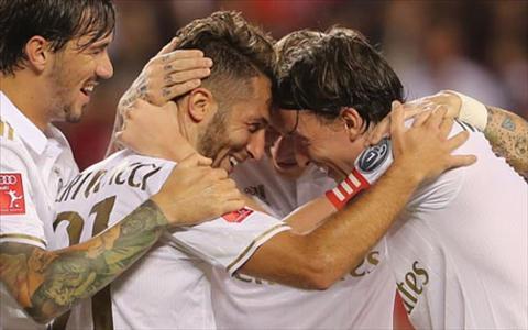 Tong hop Bayern Munich 3-3 (pen 3-5) AC Milan (ICC 2016) hinh anh