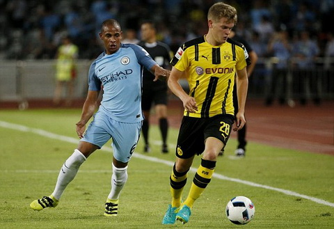 Tong hop: Dortmund 1-1 (pen: 5-6) Man City (ICC 2016)