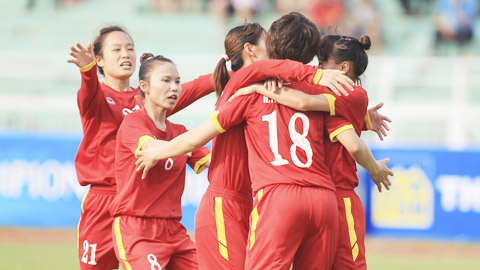 Nu Viet Nam 4-0 Nu Philippines: Ve ban ket trong tam tay