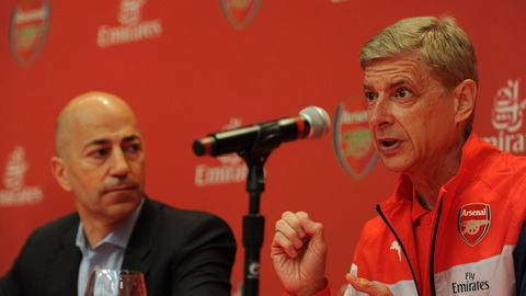 HLV Wenger khẳng định lại kế hoạch mua sắm của Arsenal