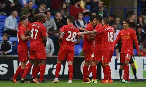 Video clip tong hop Tranmere 0-1 Liverpool (Giao huu he 2016) hinh anh
