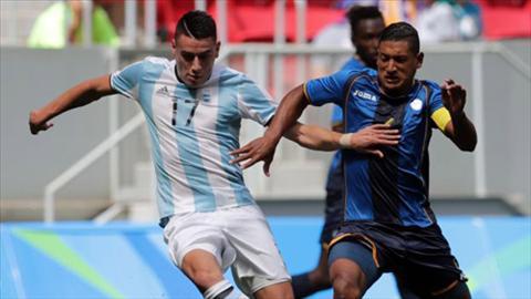 Tong hop U23 Argentina 1-1 U23 Honduras (Olympic 2016) hinh anh