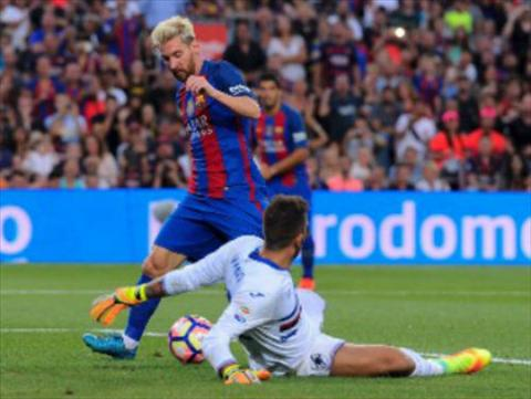 Video clip ban thang Barca 3-2 Sampdoria (Joan Gamper Cup) hinh anh