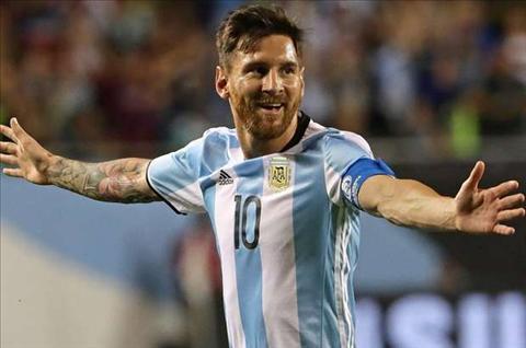 Tiet lo Lionel Messi chuan bi tro lai DT Argentina hinh anh