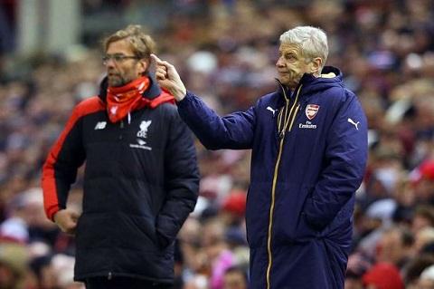 Jurgen Klopp cho rang Arsenal dang khong gap khung hoang hang thu